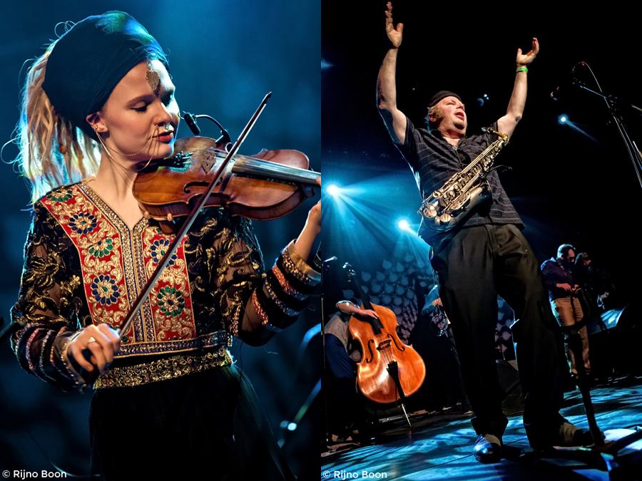 Amsterdam Klezmer Band & Saffron Sun, Luxor Live 18-03-2016